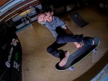 Titus Volcom Mini Ramp  Jam 2017 im Skaterspalace, Münster