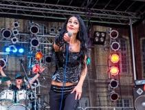 Ani Lo Live beim Schloß Rockt Open Air Münster