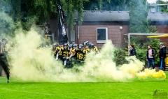 Blackhawks schlagen die Mammuts im Derby mit 35:0