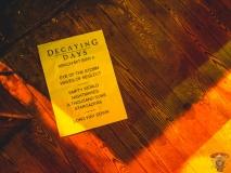 Decaying Days - Live im Sputnikcafe