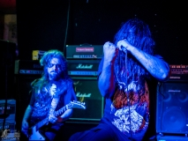 Lacerated and Carbonized live at Rare Guitar, Muenster Germany