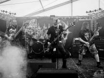 Maggots Live auf dem Tank mit Frank